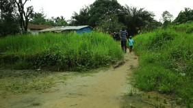 Ebola survivors William and Patrick Poopei of Liberia