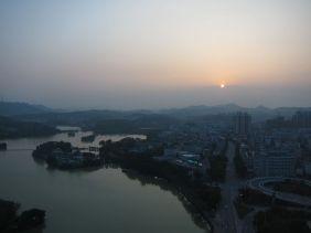 Huizhou, China - where patient zero lives.