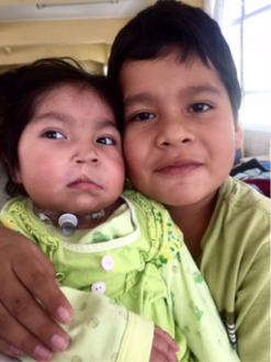 Children at El Hospital Del Niño in La Paz. Photo credit - Hannah Krystal