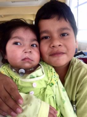 Children at El Hospital Del Niño in La Paz. Photo credit - Hannah Krystal