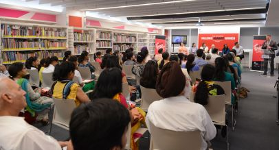 A panel discussion on violence against women held in Chandigarh, India part of a worldwide series of events marking the Global Summit to End Sexual Violence in Conflict in 2014. Source: British High Commission