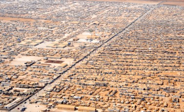 Zaatari Refugee Camp in Jordan. Source: Wikipedia
