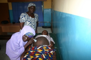 The provision of basic midwifery techniques and tools could transform childbirth for women in small villages. Source: CDC Global