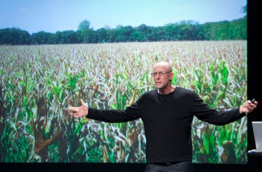Michael Pollan speaks at a TED Conference. Source: Flickr