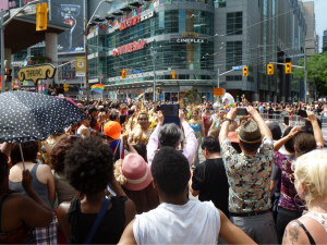 Representatives from Thailand at the 2014 World Pride Parade in Toronto, ON. Source: Cameron Norman, Creative Commons