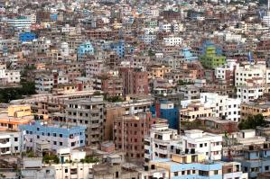 A city view of Dhaka, Bangladesh. Source: Rio Plus Centre.