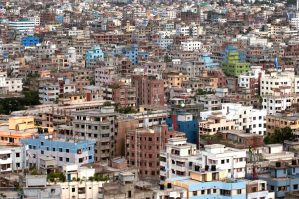 A city view of Dhaka, Bangladesh. Source: Rio Plus Centre.