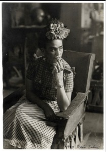 According to the National Alliance on Mental Illness, Frida Kahlo was diagnosed with minor depression, but experienced two major depressive episodes and suicide attempts during her lifetime. Source: Creative Commons
